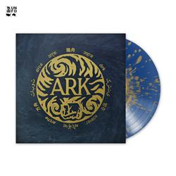 Ark Blue With Gold Splatter