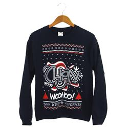 Ugly Sweater Navy Crewneck