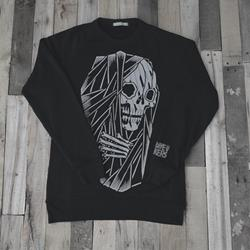 Death Bed True Black Crewneck