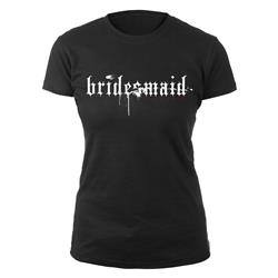 Bridesmaid Black Girl Shirt