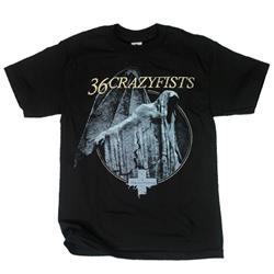 Time And Trauma Black T-Shirt
