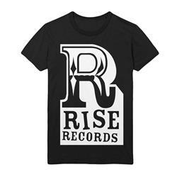 Big R Logo White on Black
