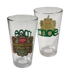 Hoppy Hour Hero  Pint Glass