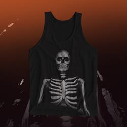 The Maine Skeleton Black