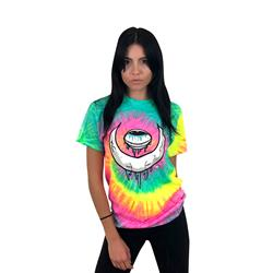 Eye Moon Minty Rainbow Tie Dye