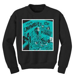 The Chronicles Of Gnarnia Black Crewneck Sweatshirt