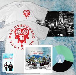 Man Overboard - LP SHIRT BUNDLE/DRIP