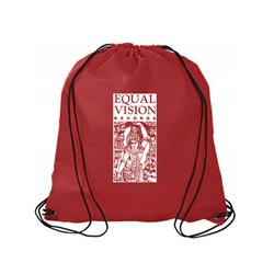 Logo Red Cinch Bag