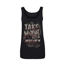 Misery Black Juniors Tank Top *Sale!*