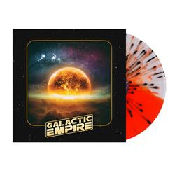 Self-Titled Half Clear / Half Orange W /Splatter
