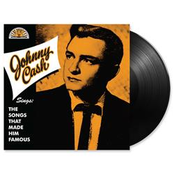 Johnny Cash - Sings The Songs That Made Him Famous - Black Vinyl