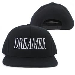 Dreamer Black Snapback Hat