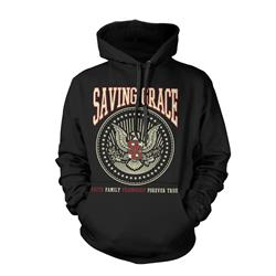 Eagle Crest Black Hooded *Sale! Final Print*