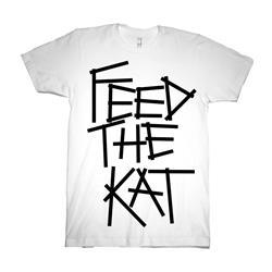 Feed The Kat White T-Shirt