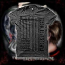 America Charcoal Grey T-Shirt