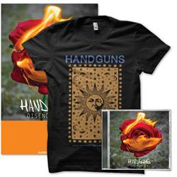 Handguns - Disenchanted CD + T-Shirt Bundle