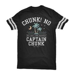 Palm Tree Vintage Smoke Vintage Football T-Shirt