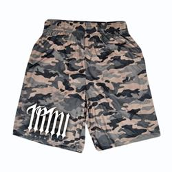 Deathless Camo Mesh Shorts