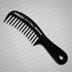 Fuck Your Hair Black Comb
