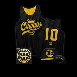 State Champs - CD/Basketball Jersey/Hat Bundle