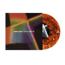 I'm Glad I'm Not Me Orange/Black Splatter Vinyl LP