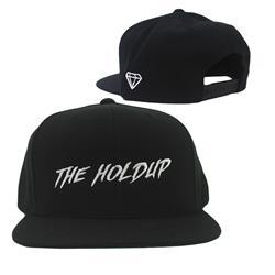 The Holdup Logo Black Snapback