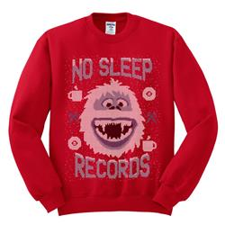 Abominable Snowman Red Christmas