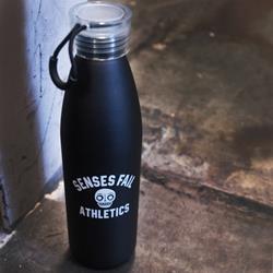 Athletics Black Water Bottle