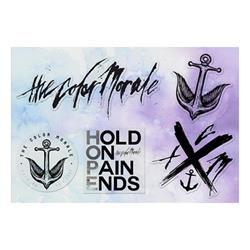 Hold On Pain Ends Sticker Sheet