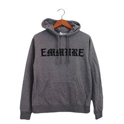 Old English Font Heather Grey