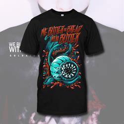 Flower Monster Black T-Shirt