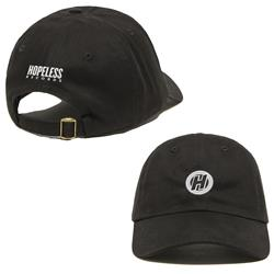 H Logo Black Dad Hat