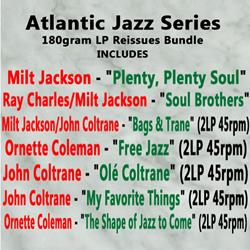 Atlantic Jazz Series 180gram LP Reissues Bundle