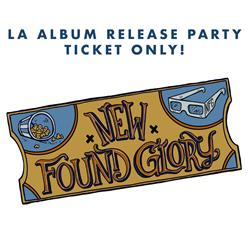 Album Release Party Ticket + DD