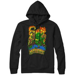 Sea Creature Black Hooded