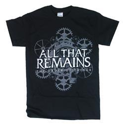 Gears Black T-Shirt