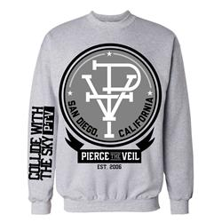 PTV Heather Grey Crewneck