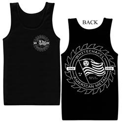 Waver Black Tank Top