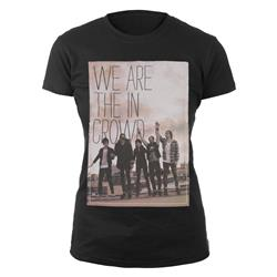 Band Photo Black Girl's T-Shirt Extra Small