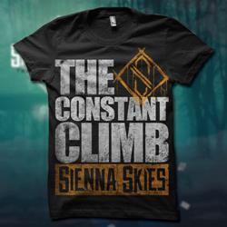 The Constant Climb Big Text Black