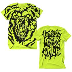 Bear All-Over-Print Neon Yellow