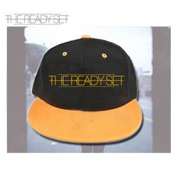 Logo Black/Gold Snapback Hat