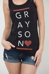 Grayson Black Tank Top