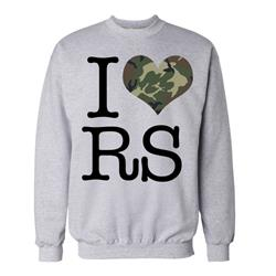 I Heart RS Grey Crewneck