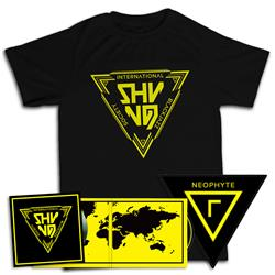 Shining - International Blackjazz Society CD + T-shirt + Patch