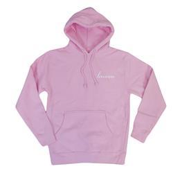 Script Logo Pink Pullover