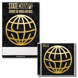 State Champs - Around The World And Back CD/Poster