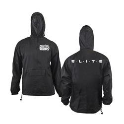 *Limited Stock* Elite Black Windbreaker Pullover