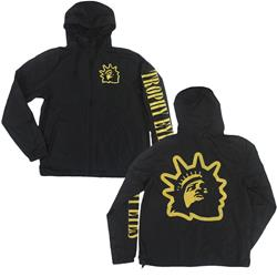 Liberty Logo Black Windbreaker