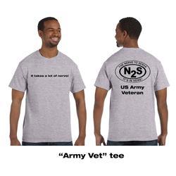 Army Vet Heather Grey